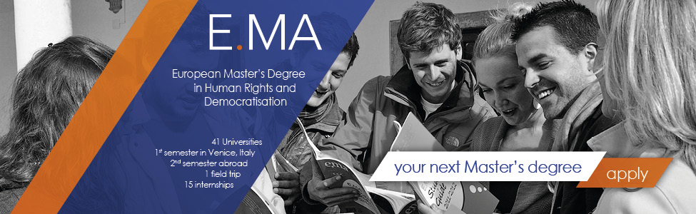 European Master's Degree in Human Rights and Democratisation