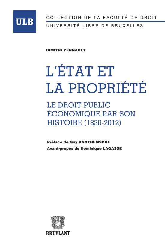 Etat et Propiete. Publication D Yernault