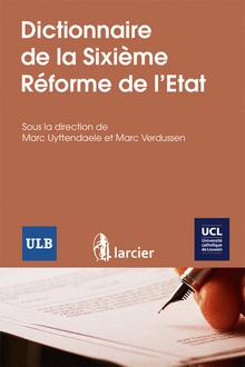 Dictionnaire reforme de l etat