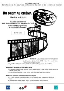 Du droit au cinéma