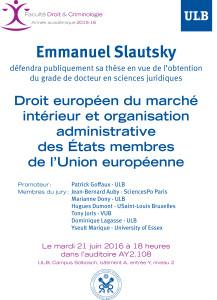 20160621 Emmanuel Slautsky soutenance publique