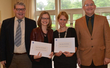 Vanessa De Greef et Laura Van den Eynde, lauréates du prix Alice Seghers