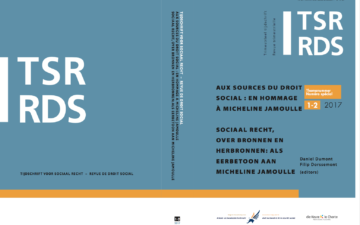 Aux sources du droit social. En hommage à Micheline Jamoulle/Sociaal recht, over bronnen en herbronnen. Als eerbetoon aan Micheline Jamoulle