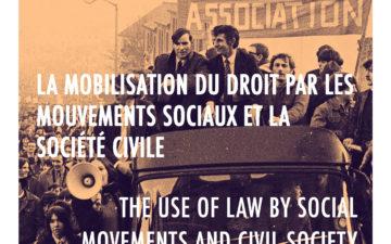 La mobilisation du droit par les mouvements sociaux et la société civile