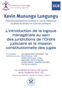 Soutenance Publique - Kevin Munungu Lungungu