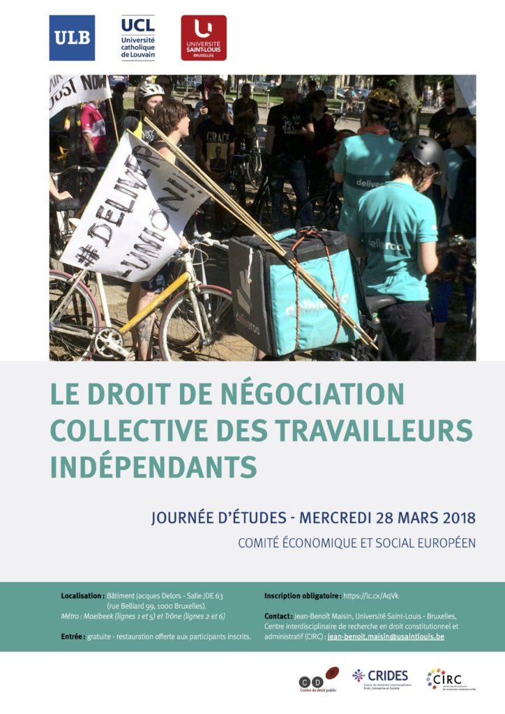 Journée négociation collective indépendants 2018