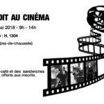 Affiche droit au ciné